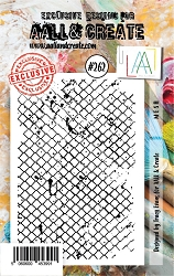 AALL & Create - Clear Stamp A7 size - Set #262 M E S H