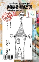 AALL & Create - Clear Stamp A7 size - Set #263 Heart and Home