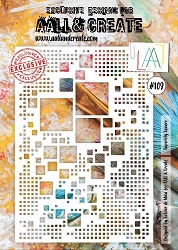 AALL & Create - Superbly Square A4 Stencil #109