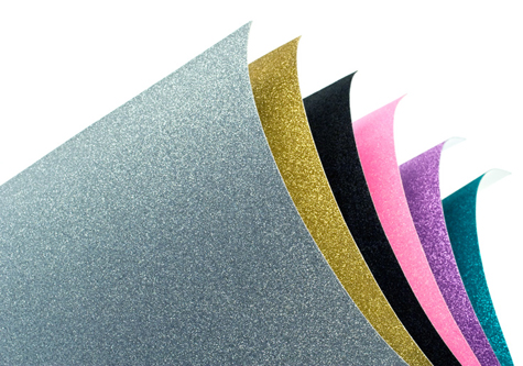 POW Glitter Paper (great for die cutting!!)