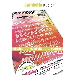 Carabelle Studio - Unmounted Art Printing Stamp - Musique