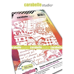 Carabelle Studio - Unmounted Art Printing Stamp - Des P'tits Papiers