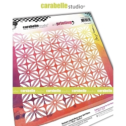 Carabelle Studio - Unmounted Art Printing Stamp - Floral Squares
