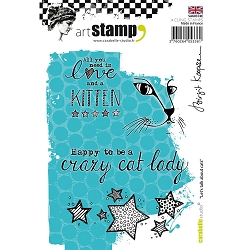 Carabelle Studio - Cling Stamp Set - Let's Talk About Cats