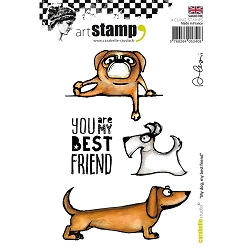 Carabelle Studio - Cling Stamp Set - My Dog, My Best Friend