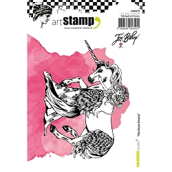 Carabelle Studio - Cling Stamp Set - Mystique Beauty