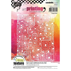 Carabelle Studio - Unmounted Art Printing Stamp - Labyrinthe