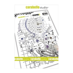 Carabelle Studio - Cling Stamp - Système Solaire (Solar System)