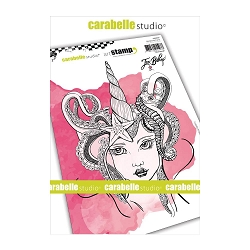 Carabelle Studio - Cling Stamp - Mermaid