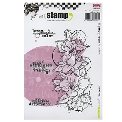 Carabelle Studio - Cling Stamp Set - The Exotiks (Exotic Flowers)