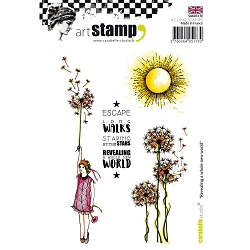 Carabelle Studio - Cling Stamp Set - Revealing A Whole New World