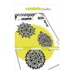 Carabelle Studio - Cling Stamp Set - Trio de Dentelles (Trio of Lace)