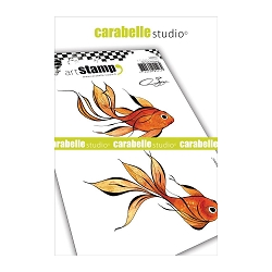 Carabelle Studio - Cling Stamp Set - 2 Poissons (2 Fishes)