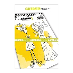 Carabelle Studio - Cling Stamp Set - Angels