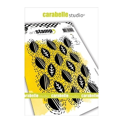 Carabelle Studio - Cling Stamp Set - Wonky Leaf Line
