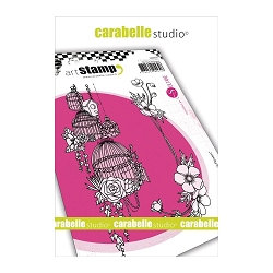 Carabelle Studio - Cling Stamp Set - French Flowers