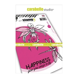 Carabelle Studio - Cling Stamp Set - Happiness