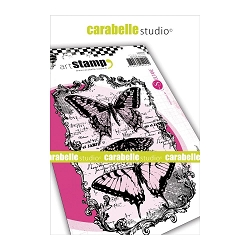 Carabelle Studio - Cling Stamp Set - Butterflies