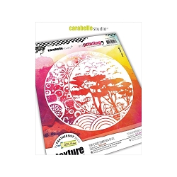 Carabelle Studio - Unmounted Art Printing Stamp - Four Seasons Of The Moon