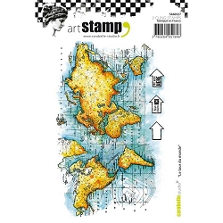 Carabelle Studio - Cling Stamp - Le Tour du Monde/Around the World
