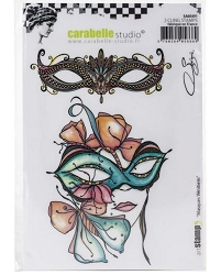 Carabelle Studio - Cling Stamp - Masques Venitiens by Soizic