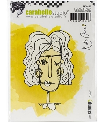 Carabelle Studio - Cling Stamp - Lola By Kate Crane