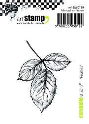 Carabelle Studio - Cling Stamp - Feuilles