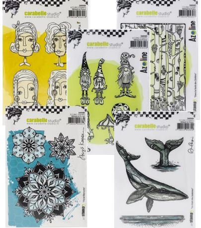 Carabelle Studio - Fun new stamps & stencils