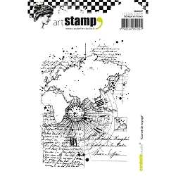 Carabelle Studio - Cling Stamp Set - Carnet de Voyage (Travel Notebook)