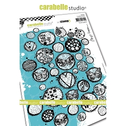Carabelle Studio - Cling Stamp - Circles Galore