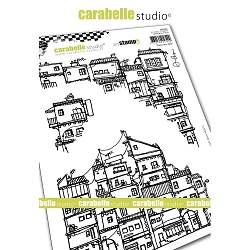 Carabelle Studio - Cling Stamp - Dans Ma Ville (In My City)