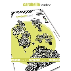 Carabelle Studio - Cling Stamp - Freestyle:  Ethnique de l'ouest (Western Ethnic)