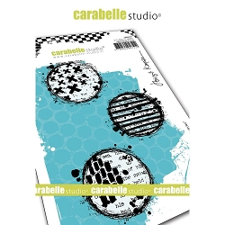 Carabelle Studio - Cling Stamp - Textured Circles
