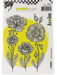 Carabelle Studio - Cling Stamp - Gentils Coquelicots