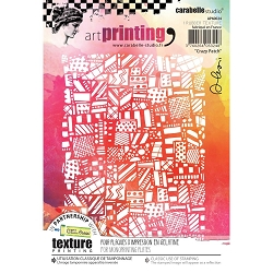 Carabelle Studio - Unmounted Art Printing Stamp - Crazy Patch