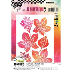 Carabelle Studio - Unmounted Art Printing Stamp - Feuilles (Leaves)