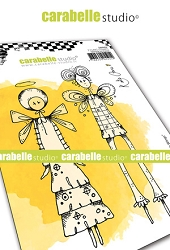 Carabelle Studio - Cling Stamp - Things with Wings