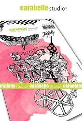 Carabelle Studio - Cling Stamp - Chroniques Steampunk