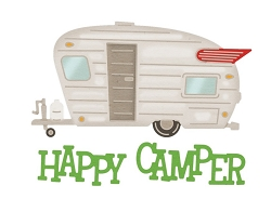 Cheery Lynn Designs - Die - Happy Camper :)