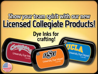NCAA Licensed Stamps & Inks