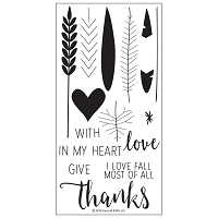 Concord & 9th - Clear Stamp - Give Thanks