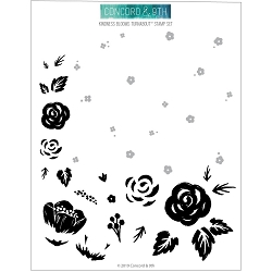 Concord & 9th - Clear Stamp - Kindness Blooms Turnabout™