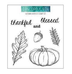 Concord & 9th - Clear Stamp - Autumn Harvest