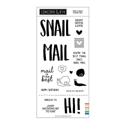 Concord & 9th - Clear Stamp - Snail Mail