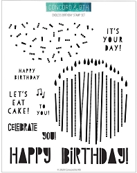 Concord & 9th - Clear Stamp - Endless Birthday