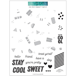 Concord & 9th - Clear Stamp - Cool Treats Turnabout™