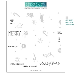 Concord & 9th - Clear Stamp - Iconic Christmas Turnabout™