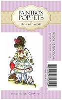 Paintbox Poppets stamps