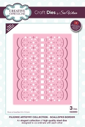 Sue Wilson Designs - Die - Filigree Artistry Collection - Scalloped Border