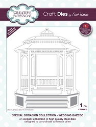 Sue Wilson Designs - Die - Special Occasion Collection - Wedding Gazebo